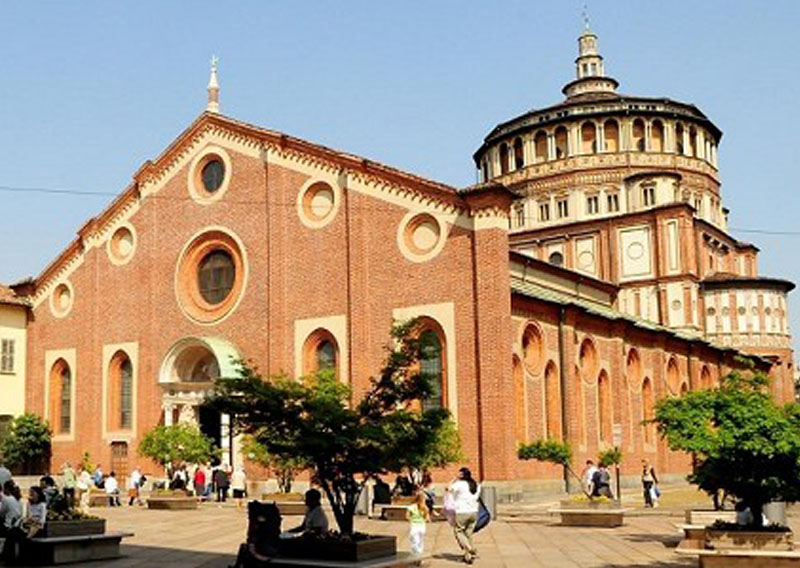 The church Santa Maria Delle Grazie & the Last Supper