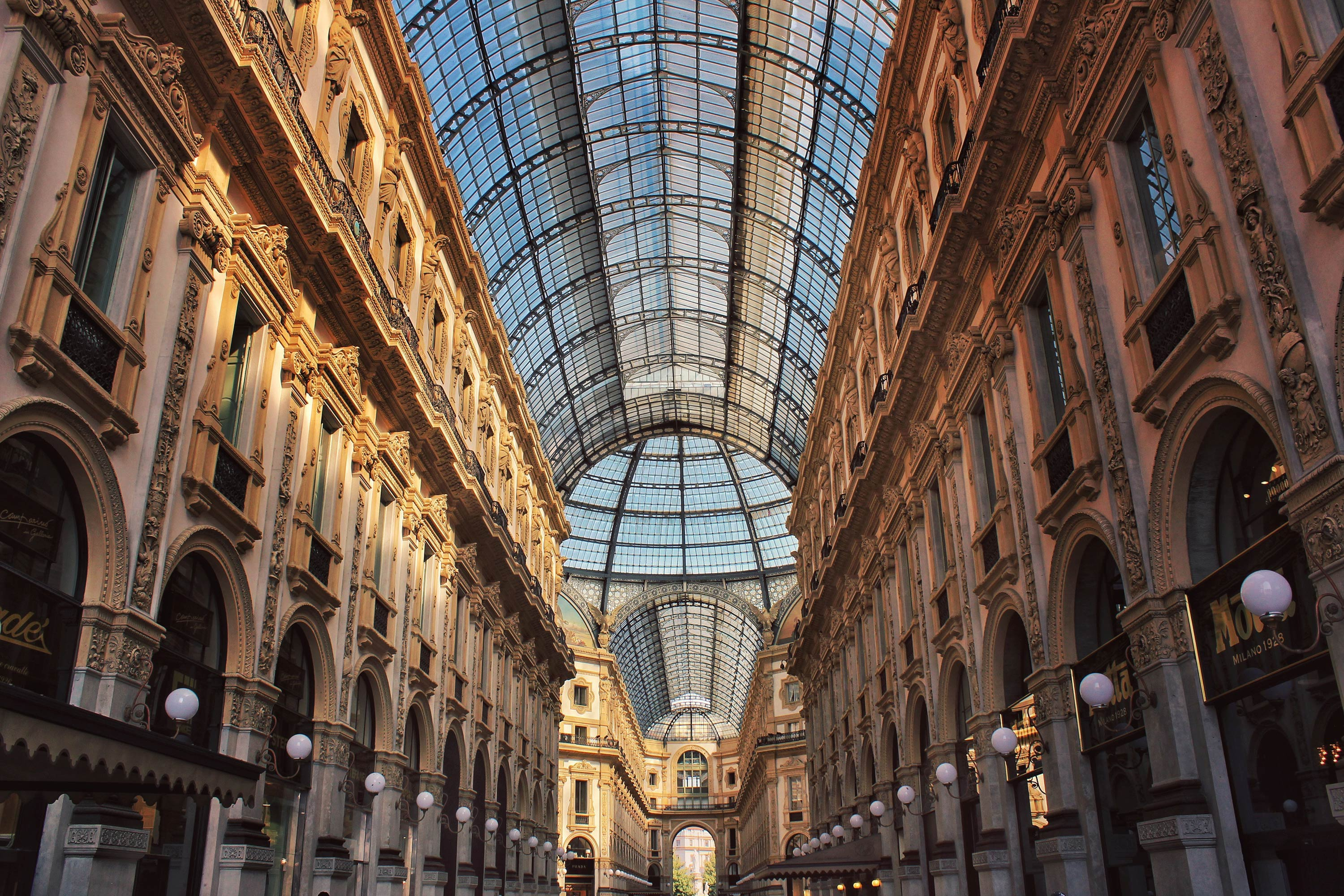 The Vittorio Emanuele Gallery